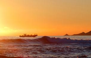 Sunset Boat Trip around the Sanguinaires Islands - departs from the Gulf of Lava, 40 min from Ajaccio