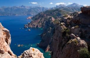 Jet Ski Ride to Capo Rosso – 3 hrs. 30 mins - departs from the Guld of Lava, 40 min from Ajaccio