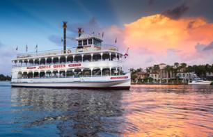 Relaxing Evening in Fort Lauderdale:Discovery Cruise with Unlimited Buffet and Comedy Show
