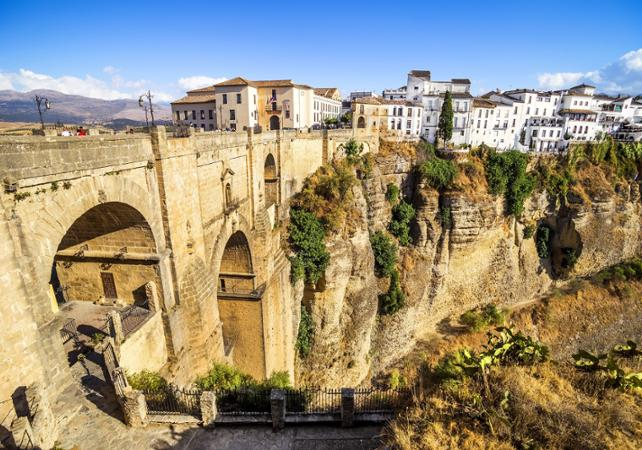 Excursion à Ronda et visite du musée du vin - au départ de la Costa del Sol