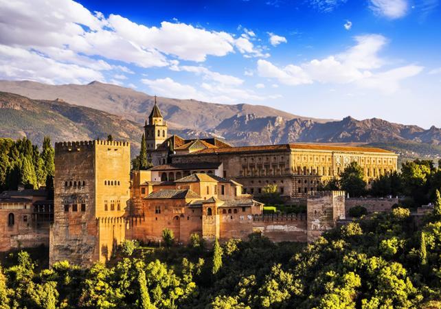 Photo Excursion à la forteresse de l'Alhambra et à Grenade au départ de la Costa del Sol