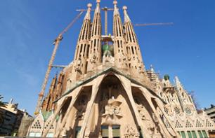 Visite guidée de la Sagrada Familia : Billet coupe file