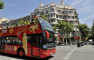 Citytour di Barcellona: Pass hop-on hop-off 1 o 2 giorni