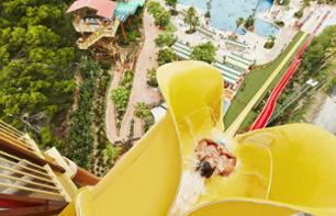 Billet Parc aquatique Costa Caribe de Port Aventura 1 jour transport depuis Barcelone inclus