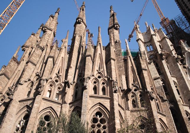 Visite guidée de la Sagrada Familia, du Parc Güell et de Passeig de Gràcia - Barcelone -