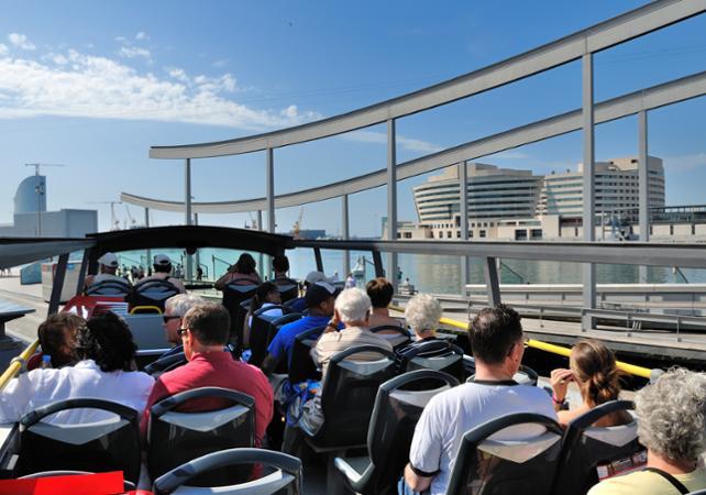 Visitas en autobús: Tour por Barcelona en autobús de paradas ...