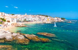 One-day excursion along the Costa Brava and boat cruise