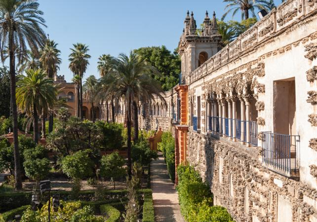 Seville: Guided Bus Tour of Seville & Visit the Alcázar, the Giralda and ...
