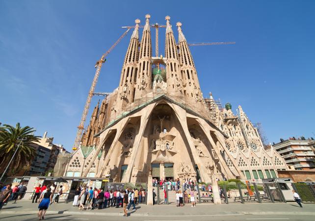 Visite artistique de Barcelone et des chefs d'œuvre de Gaudi - Barcelone -