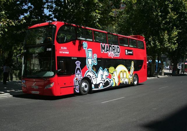 Photo Visite de Madrid en bus