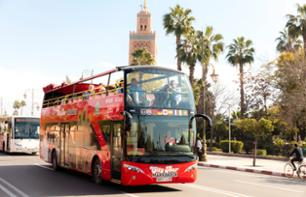 Tour durch Marrakesch im Panoramabus - 48-Stunden-Hop-On/Hop-Off-Pass - Kamelritt und Quad-Tour optional