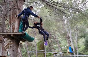 Adventure Park Ticket - Ziplining - Jungle Trek - Tarragona