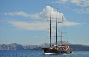 Dinner Cruise in the Archipelago of Santorini