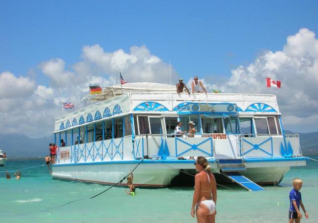 Une journée sur l'ilet Caret - Au départ de Pointe-à-Pitre - La Guadeloupe et ses sites touristiques -
