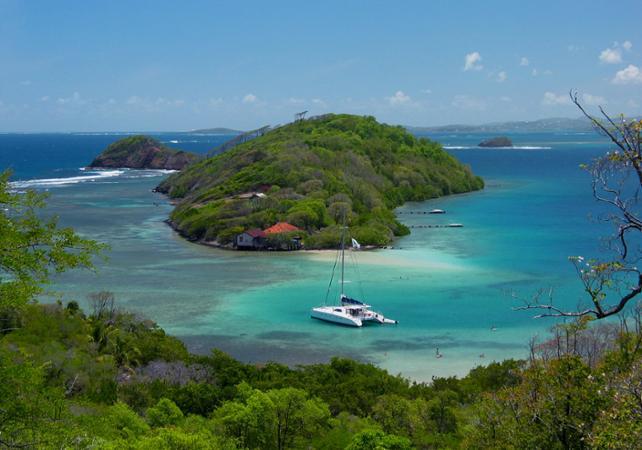 Journée en catamaran sur la côte sud atlantique de la Martinique - Au départ du François - Martinique (Fort-de-France, Sainte-Anne...) -