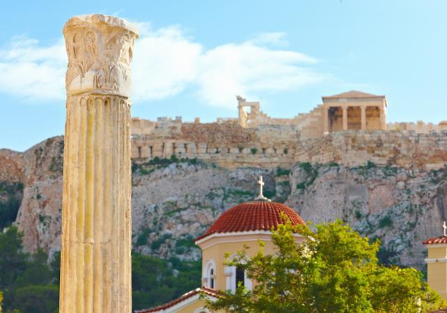 Visite guidée d'Athènes et du musée de l'Acropole- Billet coupe-file - Athènes -