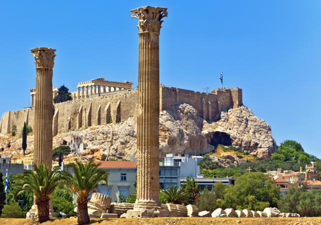 Photo Le meilleur d'Athènes en un jour avec déjeuner- visite guidée en bus