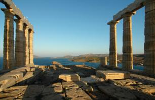 Tour of Cape Sounion & The Temple of Poseidon by Bus – Departing from your hotel