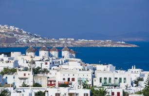 2-Day Excursion to Mykonos – Departing from your hotel in Athens