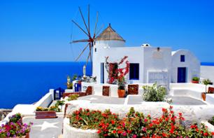 2-Day Excursion to Santorini – Departing from your hotel in Athens