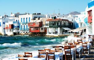Tour the City and Island of Mykonos – Tour by bus and on foot