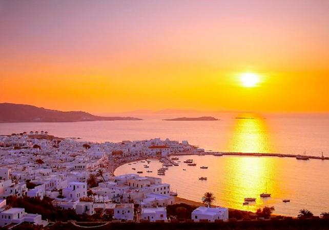 Mykonos: Sunset Cruise Departing from Mykonos
