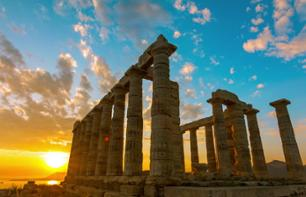 Excursion to Cape Sounion and the Temple of Poseidon at Sunset – departing from Athens