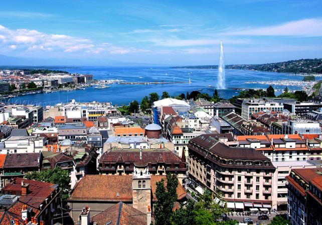 Photo Visite guidée de Genève et croisière sur le Lac Léman