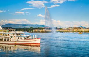 Geneva City Tour and Trip to Annecy – Cruise on Lake Geneva Optional