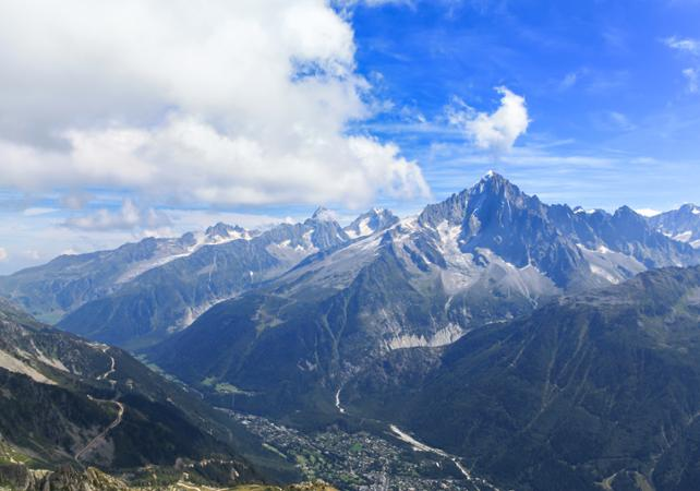 ,Excursion to Chamonix,Excursion to the Mont Blanc