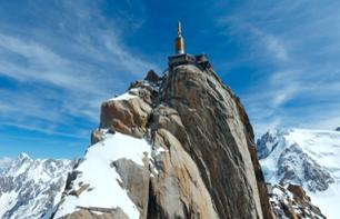 Half Day Skiing in Chamonix and Ticket for the Aiguille du Midi – Return Transfer from Geneva