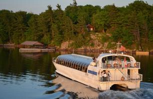 Sunset Dinner Cruise through 1000 islands (3hrs)