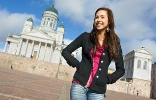 Guided walking tour of Helsinki