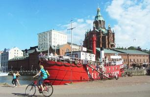 Guided walking tour of Helsinki with traditional lunch