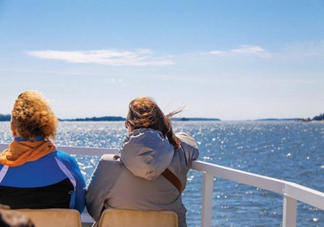 Le meilleur de la Finlande : croisière sur l'archipel, balade sur une île et dîner gastronomique finnois - Helsinki -