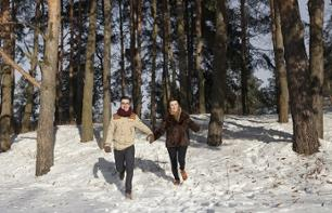 Winter nature hike and traditional dinner in Helsinki