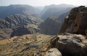 "Private Excursion to Jebel Akhdar, the ""Green Mountain"" – Leaving from Muscat"