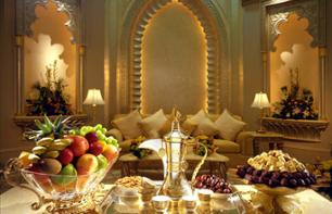Afternoon Tea at the Emirates Palace in Abu Dhabi