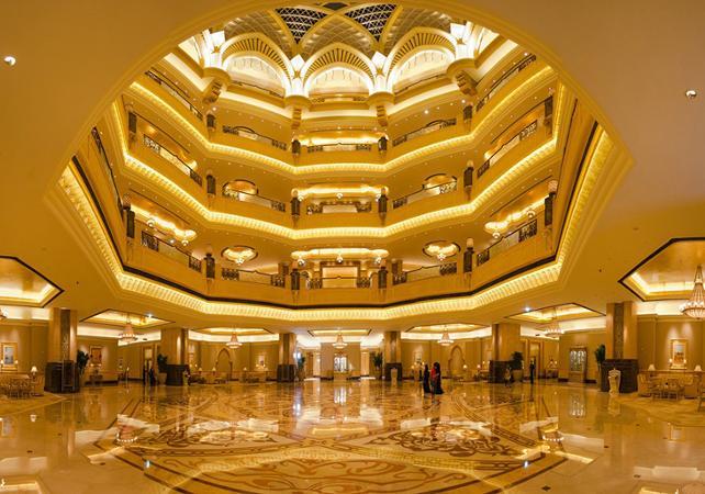 Reservation Emirates Palace Hotel Cafe