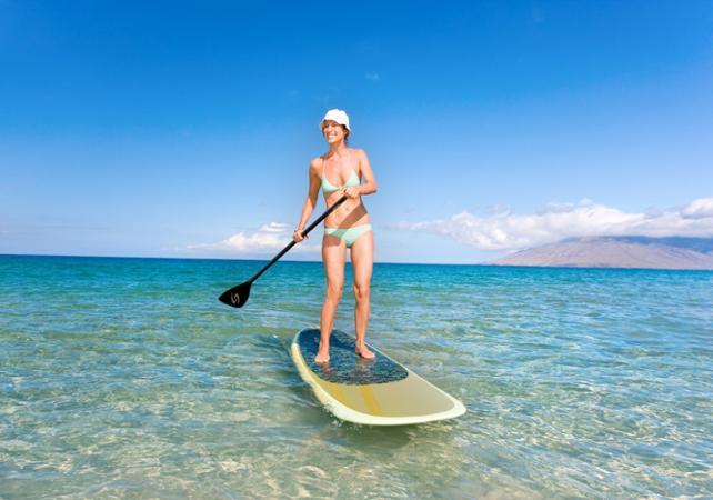 Balade en paddle board à La Réunion - La Réunion et ses sites touristiques -