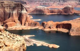 Panoramic cruise on Lake Powell: the Antelope and Navajo Canyons (2 hours 30 mins) - Page