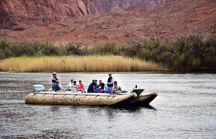 Peaceful Rafting on the Colorado River at Glen Canyon and Horseshoe Bend - Day Trip from Page