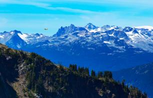 Trip to Whistler with a seaplane flight over the mountains
