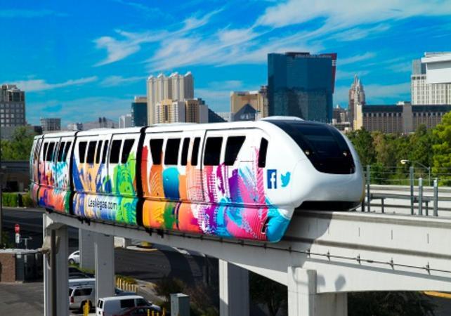 Pass transport à Las Vegas - Utilisation illimitée du Monorail durant la durée de votre choix - Las Vegas -