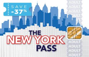 New York Pass – Access to Over 80 Attractions – Valid from 1, 2, 3, 5, 7 or 10 days