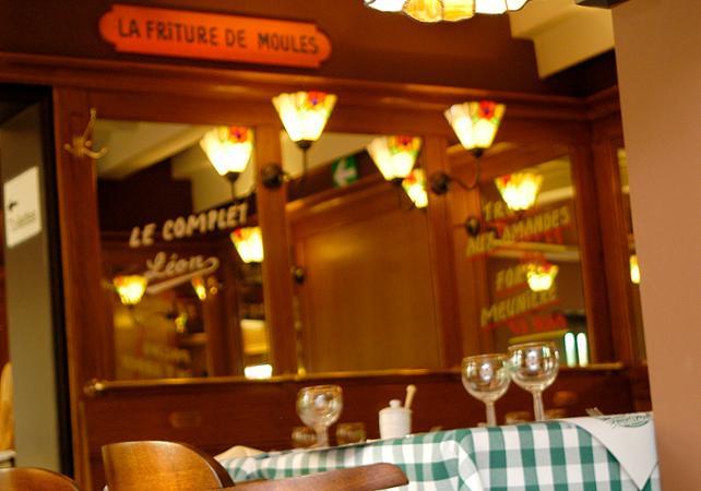 """Repas traditionnel Bruxellois """"Chez Léon"""", le plus ancien restaurant de Bruxelles image 7"""