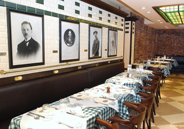 """Repas traditionnel Bruxellois """"Chez Léon"""", le plus ancien restaurant de Bruxelles image 8"""