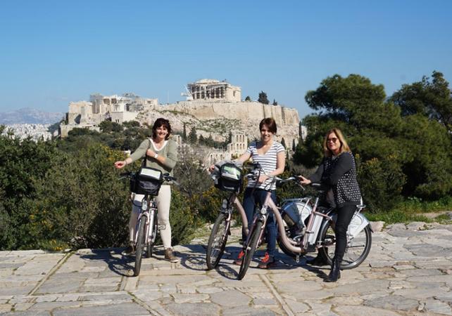 Photo Visite guidée des incontournables d'Athènes à vélo