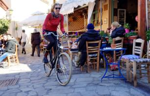 Tour of Athens by Standard or Electric Bike & Greek Food Tasting