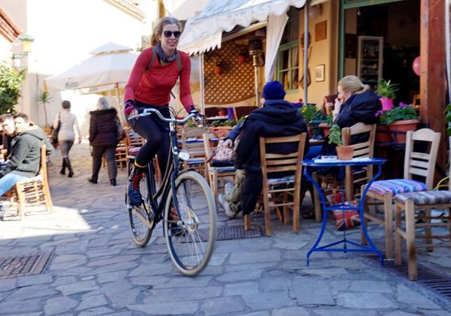 Photo Visite d'Athènes en vélo classique ou électrique et dégustation de produits grecs